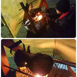 焚き火料理~☆