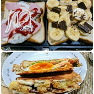 お休みの朝食~☆