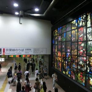 H30.07休日おでかけパス_03─JR東京駅にて。