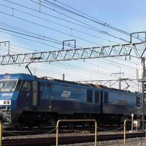7年前の今頃(H24.12)─発車前のEH200 23。