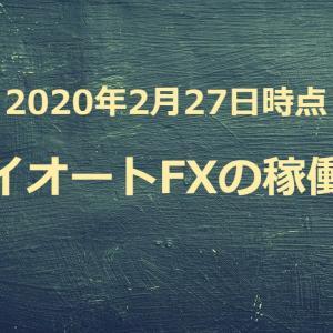 【2020年2月27日】トライオートFXでの運用資金を300万円から250万円に減らしました!