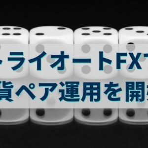 トライオートFXで低相関の6通貨ペア運用を開始!