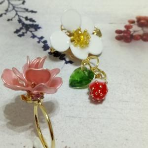 薔薇と苺と…!