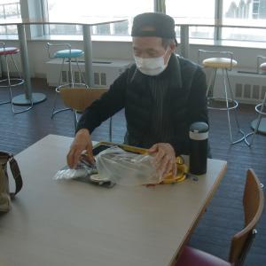 鮎仲間の昼食会から、仕掛けなどの釣り談義…!!