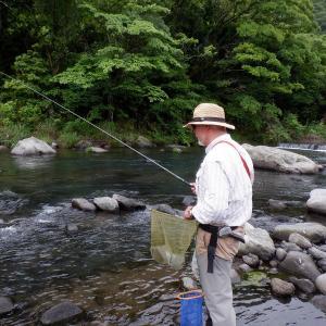 川回り後、友釣り3時間で良型そろい14尾…!!