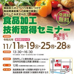 【お知らせ】宮崎県日向市で、商品開発をテーマとしたセミナーの講師をさせていただきます。