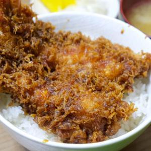 【もりなが食堂/福島県福島市】ジャンボ海老天丼のハミ出しっぷりに惚れたぜ!