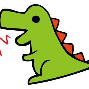 カラフルでかわいい恐竜のぬいぐるみがかわいい!