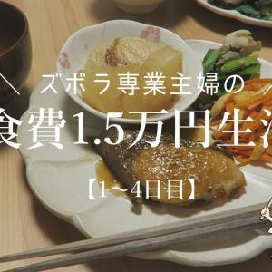 【節約生活】夫婦2人で食費1.5万円生活〔料理下手〕