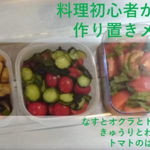 【節約料理】夏が旬!トマトたっぷり!作り置き料理!