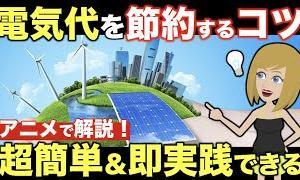【節約術】コツコツ貯まる電気代を安くする一番効果的な方法とは?電力会社を乗り換えて最強の節約を!【生活雑学】