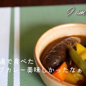 【独身男のスープカレー】市販のスープで簡単に/節約料理/仕事って不公平/残業したくないアラサー