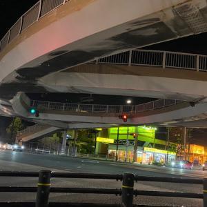 デカイ歩道橋