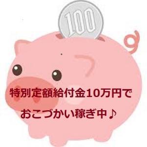 特別定額給付金10万円でおこづかい稼ぎスタート