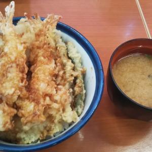 焼山(天白区)_天丼てんや(植田焼山店) #天丼(2019年10月の日曜日)