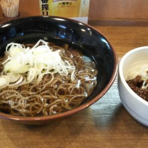 名駅_かきつばた #そば&どて丼(2020年3月の平日)