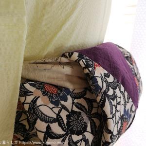 銀座太鼓や半幅帯に使える帯揚げ枕を作りました