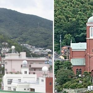 浦上教会と浦上天主堂旧鐘楼:長崎・長崎市
