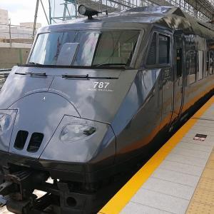 JR特急と九州新幹線に乗って長崎から熊本へ