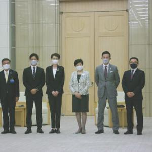 【Bリーグ】島田チェアマンら、知事へ開幕報告など