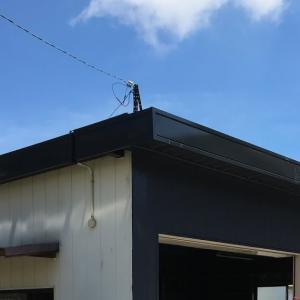 袋井市ガレージのフッ素塗装① 2019.9.3
