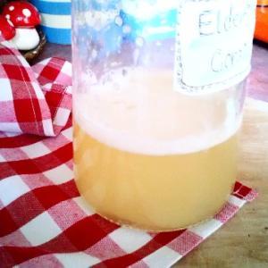流行りの天然酵母をエルダーフラワーコーディアルで作ってみよう