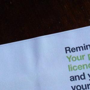 イギリスの運転免許更新と怯える日々