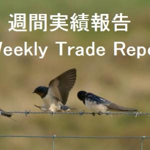 週間実績報告(9月16日~9月21日)