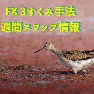 FX 3すくみ手法-週間スワップ情報(11月11日~16日)