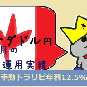 【手動トラリピ】カナダドル円1年4ヶ月の運用実績