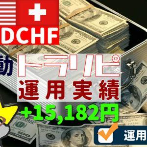ドルフラン(USDCHF)手動トラリピ2か月の実績(2020/09)