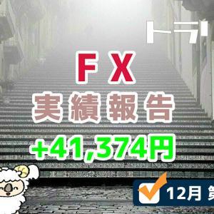 手動トラリピなどのFX週間実績を報告するブログ【12月第1週】