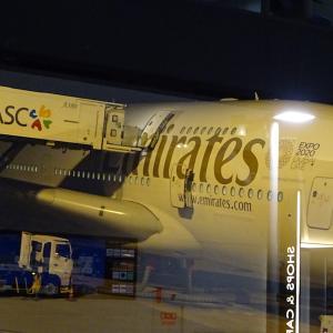 マドリード&ドバイ(3)エミレーツA380ビジネスクラスを満喫〜関空からドバイまでのシートと機内〜
