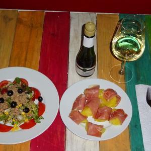 マドリード&ドバイ(29)1ユーロ尽くしのお安いディナー〜簡単・手抜き・自炊の夕食〜