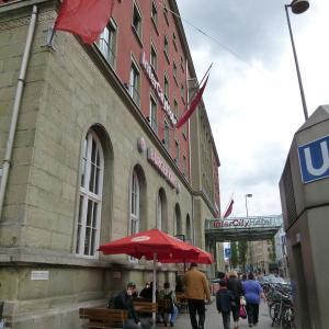 ミュンヘン中央駅のすぐ隣り インターシティ・ホテル・ミュンヘン ~お部屋編~