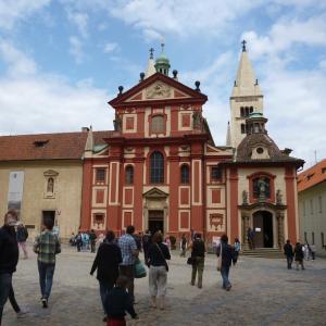 聖イジー教会@プラハ城