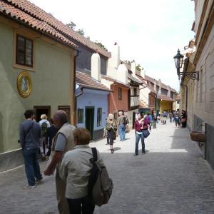 プラハ城の黄金小路