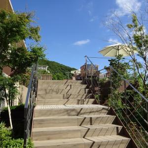 雲仙九州ホテル~2階のテラスラウンジとカフェ~