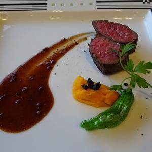 雲仙九州ホテルの夕食