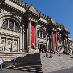 メトロポリタン美術館で、友人たちとランチ♪
