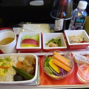 JL401便 JALエコノミークラスの機内食~成田からロンドン・ヒースローまで~