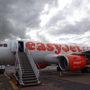 イギリスのLCC(格安航空会社)イージー・ジェット easy jet