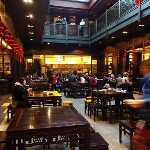紹興の魯迅ゆかりのレストラン 咸亨酒店でランチ