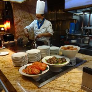 浙江国際大酒店(浙江インターナショナル ホテル)の朝食