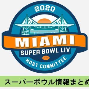【情報まとめ】スーパーボウル2020の日程や放送予定のまとめ