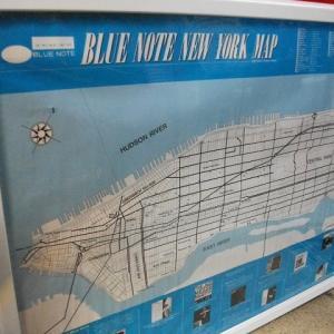 珍品 BLUE NOTE ニューヨークマップ