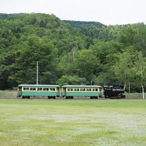 森林鉄道蒸気機関車・雨宮21号 &ディーゼル機関車同時運行(2回目)