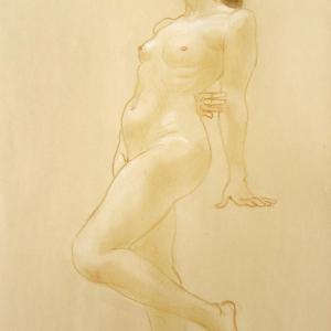 最近のクロッキー395 古代のフレスコ画