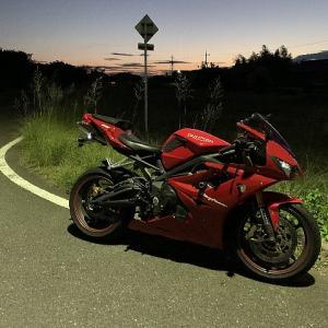 10/17(木)バイク楽しいです。
