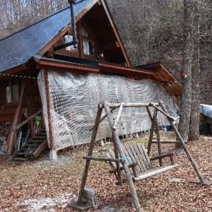 4/12(日)週末は小屋で気分転換、そして小屋から帰宅。